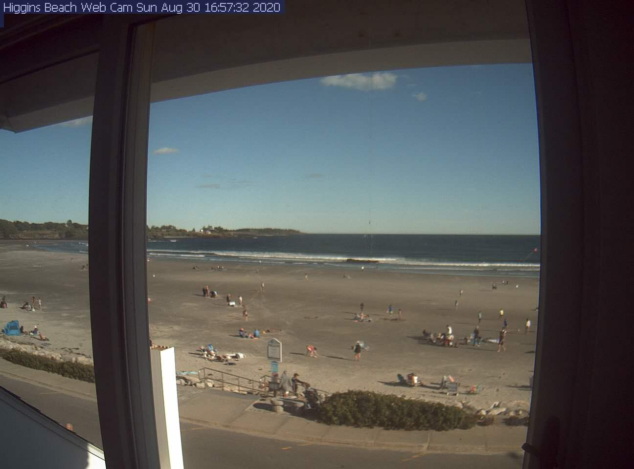 Higgins Beach Webcam Image
